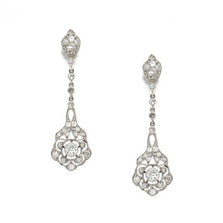 Antique Filagree Earrings