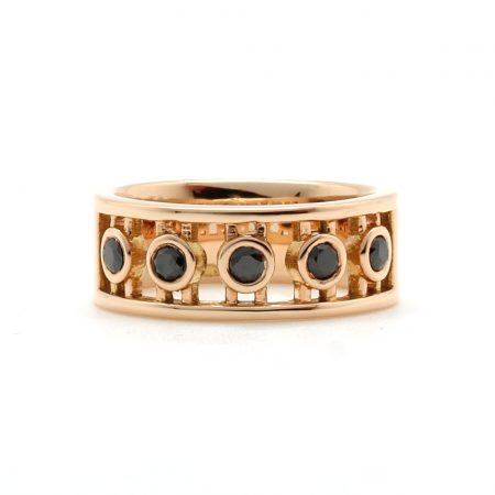 Rose Gold Roman Ring
