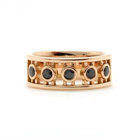 Rose Gold Roman Ring
