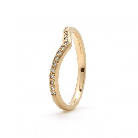 Gold Diamond V Band