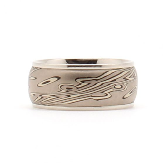 Norwegian Deep Mokume Gane Band