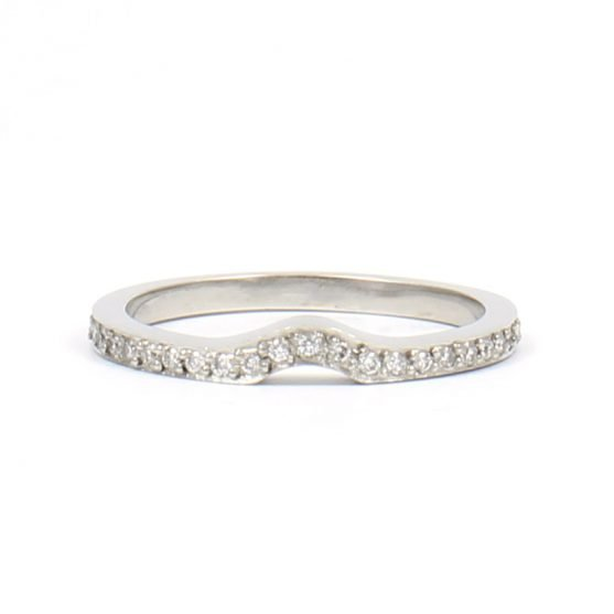 Pave Diamond Jacket Band