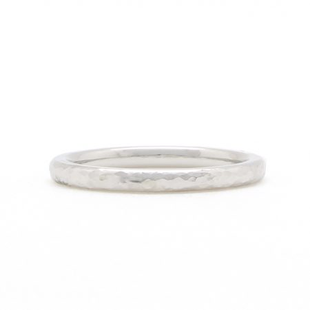 Platinum Hammered Band
