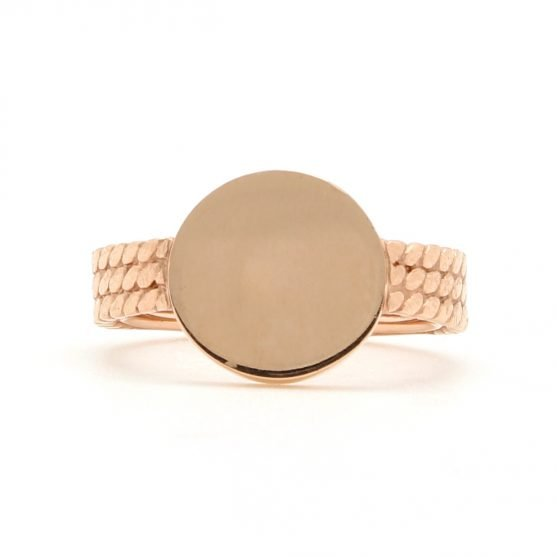Rope Signet Ring