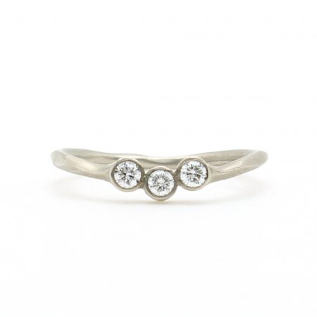 Three Stone Jacket Ring