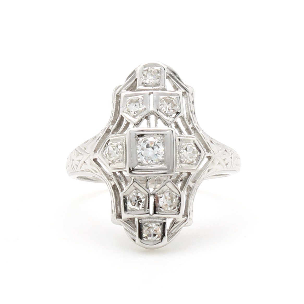 Vintage Dinner Style Ring D H Jewelers