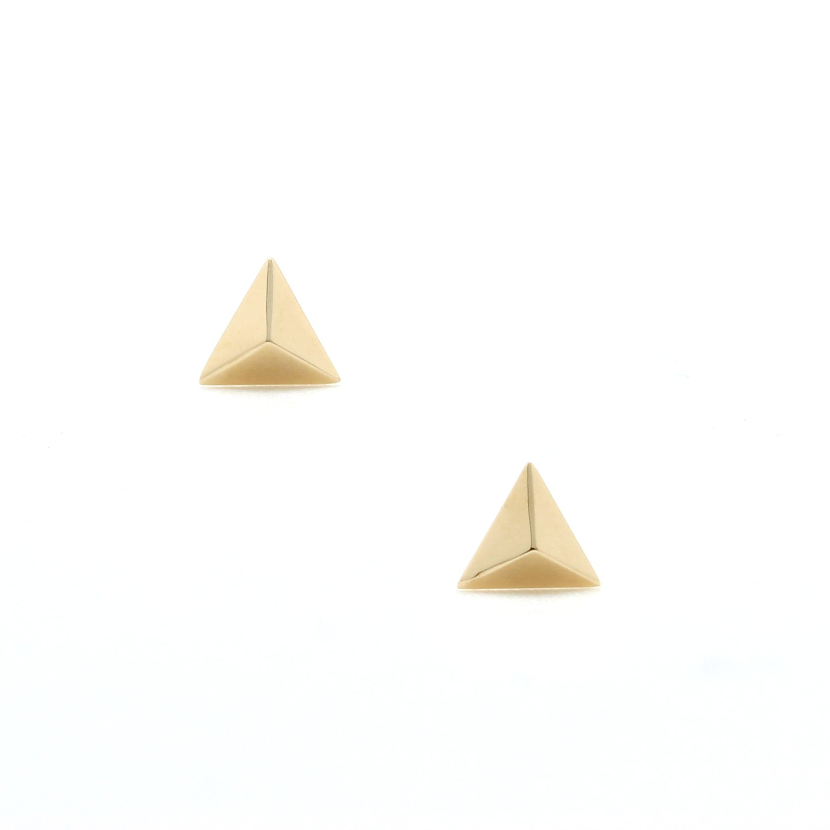 Inverted Triangle Ring Gold