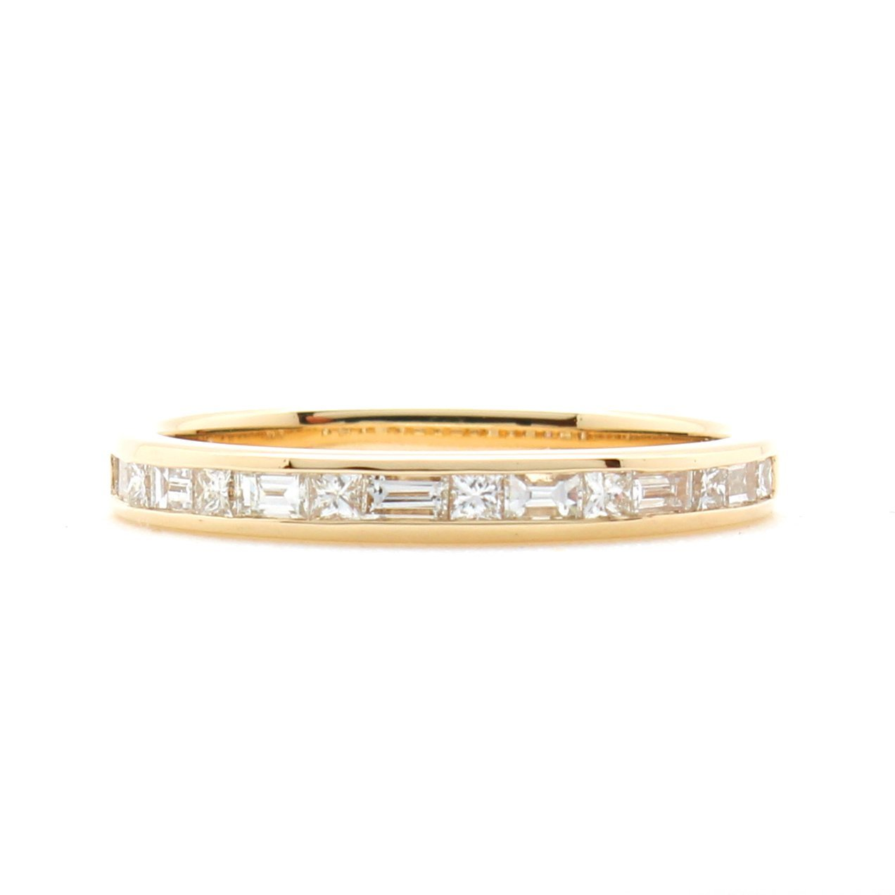Princess And Baguette Diamond Channel Band O D Amp H Jewelers