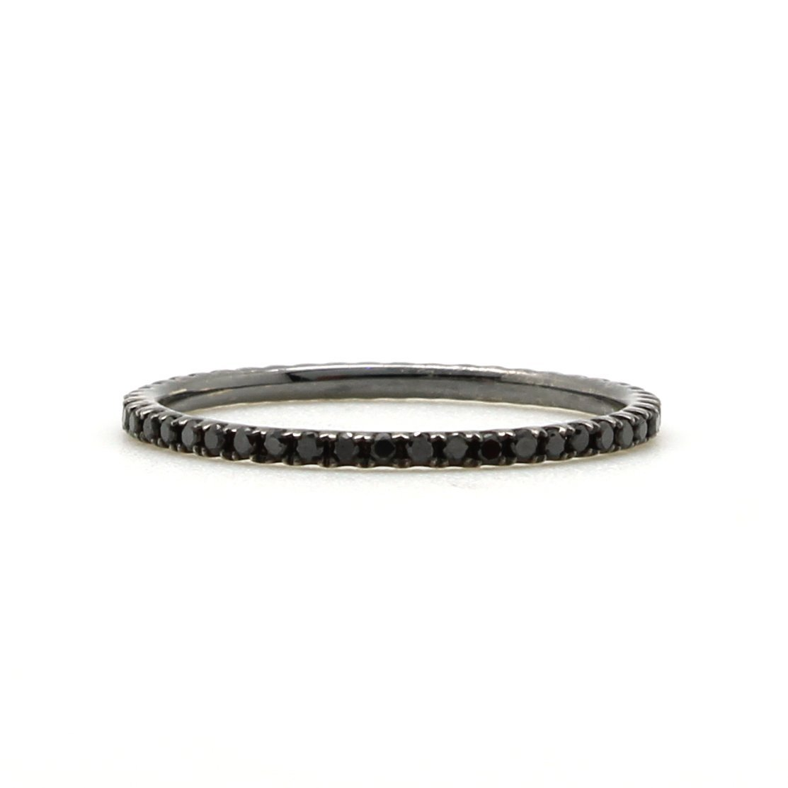 bands eternity ring ash diamond image product gold black rose kirstin band products