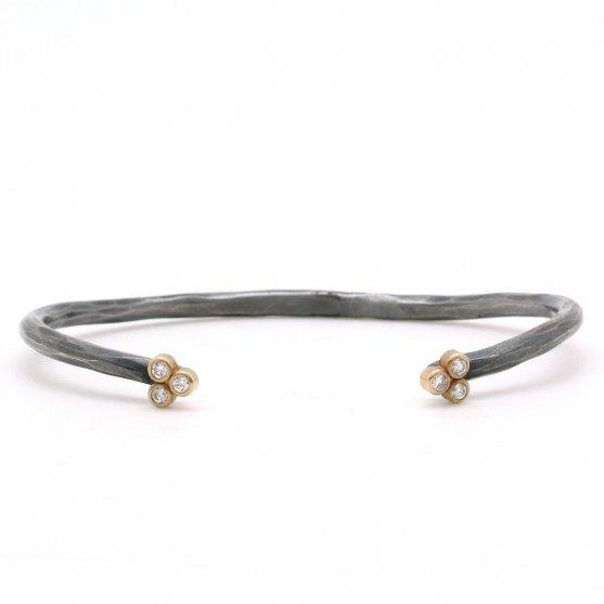 Forged Clover Cuff Bracelet