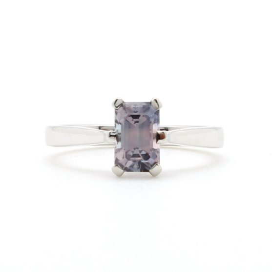 Light Purple Sapphire Ring