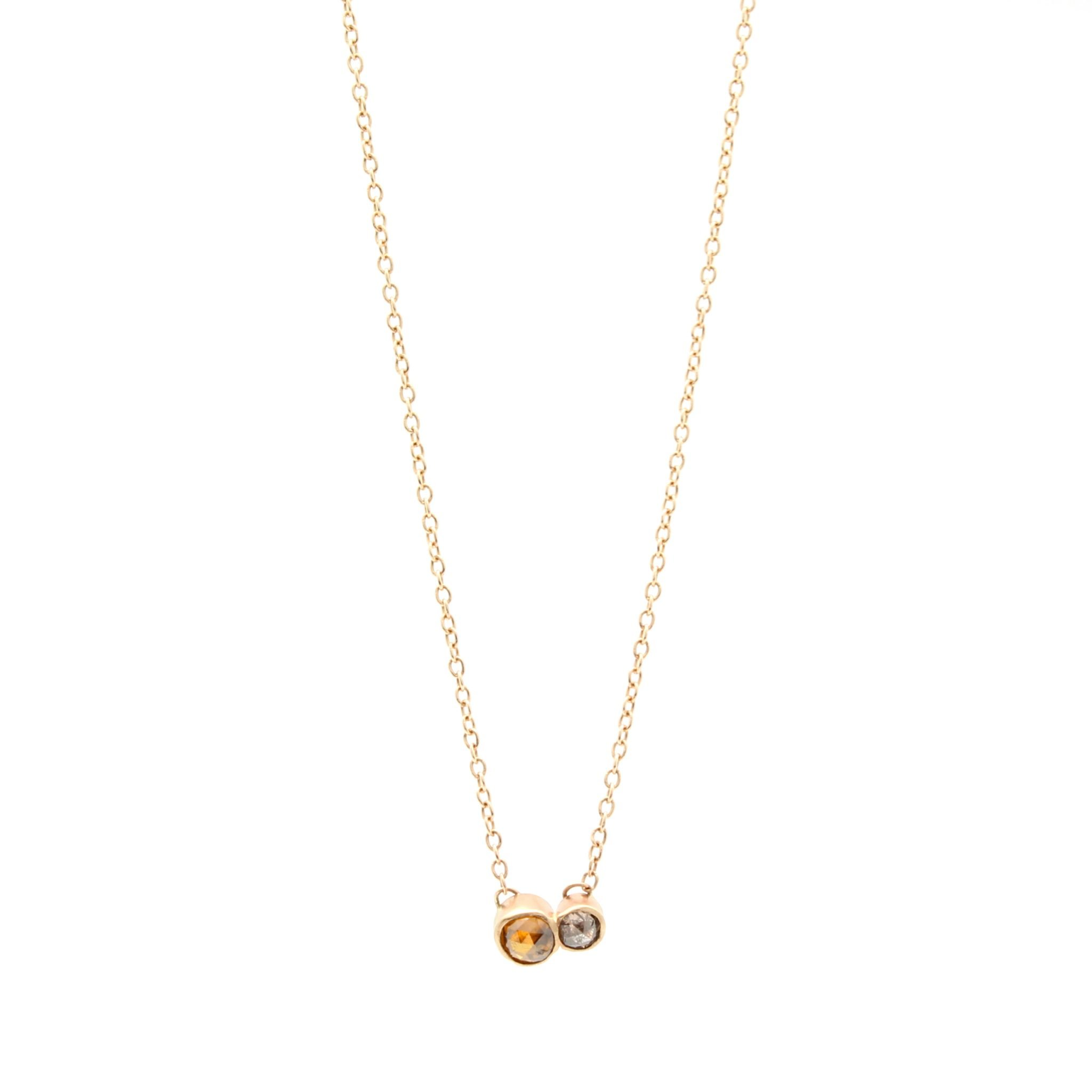 the collection forevermark necklace tribute gold cheap diamond rose round in
