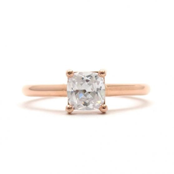 Rose Gold Prong Solitaire