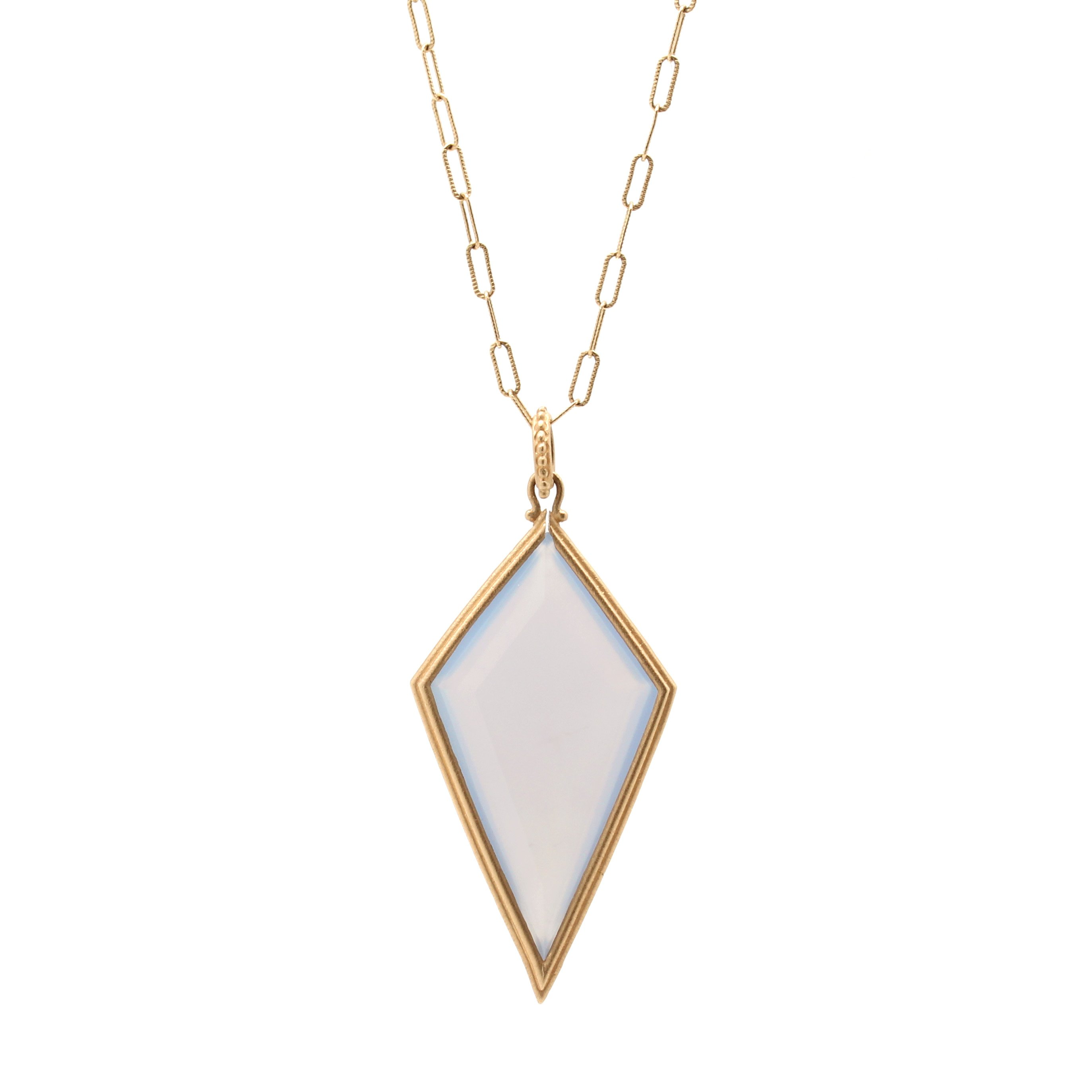 full solid item and click pendant chrome to massive expand chalcedony chain cable rh necklace